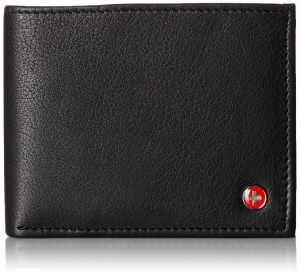 Alpine Swiss Mens Leather Flipout Wallet