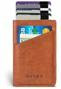 Front Pocket Minimalist Wallet for Men