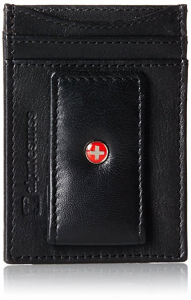 Alpine Swiss Mens Wallet Leather