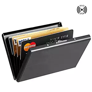 MaxGear Stainless Steel Card Holder Case