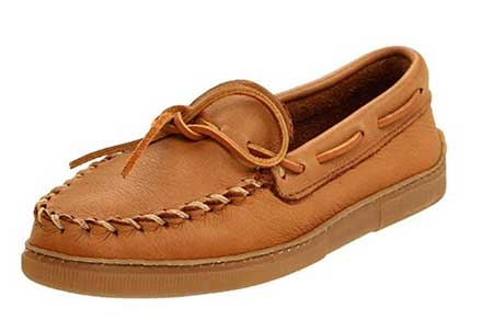 Classic Moccasin moosehide review