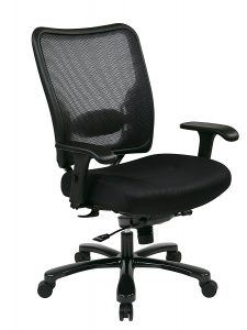 SPACE Seating Double AirGrid Big and Tall Ergonomic Chair