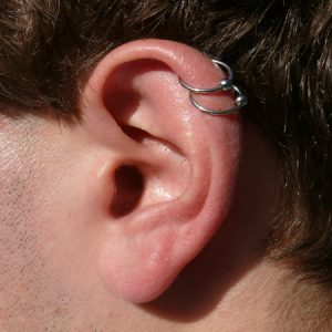 The Helix Cartilage Piercing Location